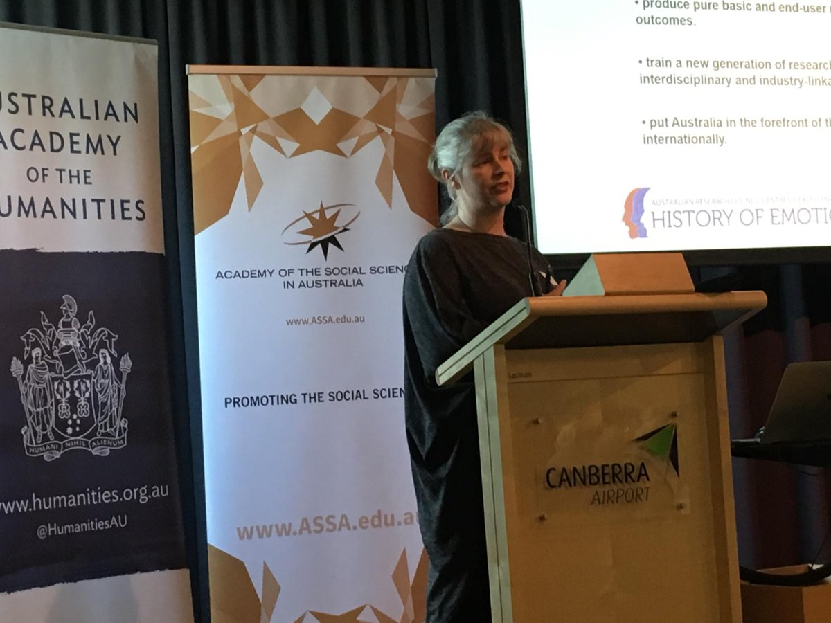 #HASS Centres of Excellence event: @ThinkEmotions #AAHFellow Susan Broomhall on next gen enagement through their large #schools program<br>http://pic.twitter.com/1dxjAlHRHS