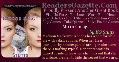 Mirror Image @KGStutts #SciFi #Romance https://t.co/IJRYO7XA4s Madison Mackenzie Rhodes has a comfortable life with a daily  #IAN1 4