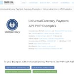 Image for the Tweet beginning: We added #UniversalCurrency [#UNIT] -