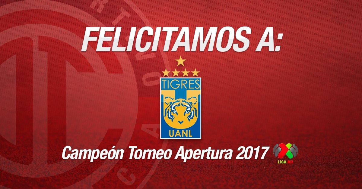 ¡Felicidades @TigresOficial Campeón del...