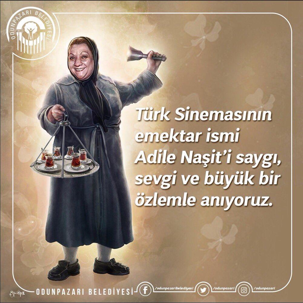 Türk Sinemasının emektar ismi #AdileNaşi...