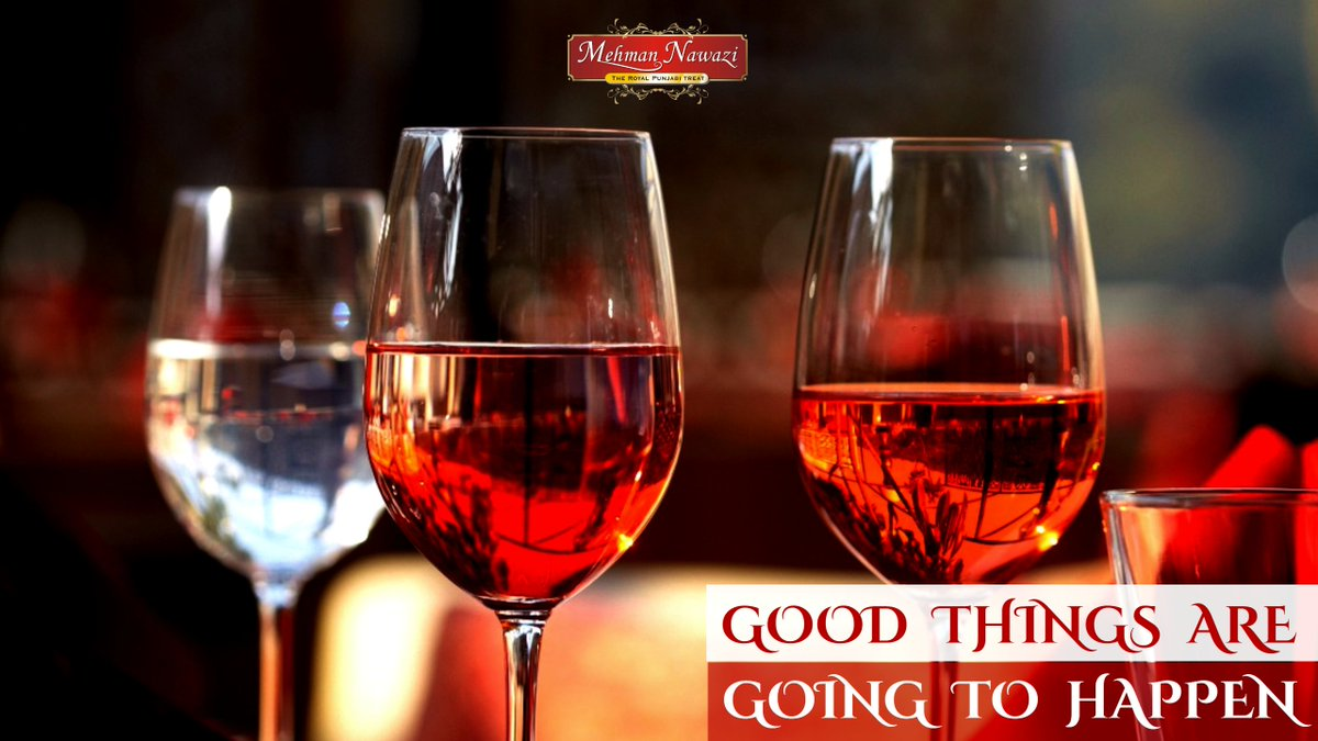 RT @MehmanNawazi: Good things are going to happen.  #MehmanNawazi #Royal #Dine #Sion #Powai #happy #Monday https://t.co/jF4yOJwg7X