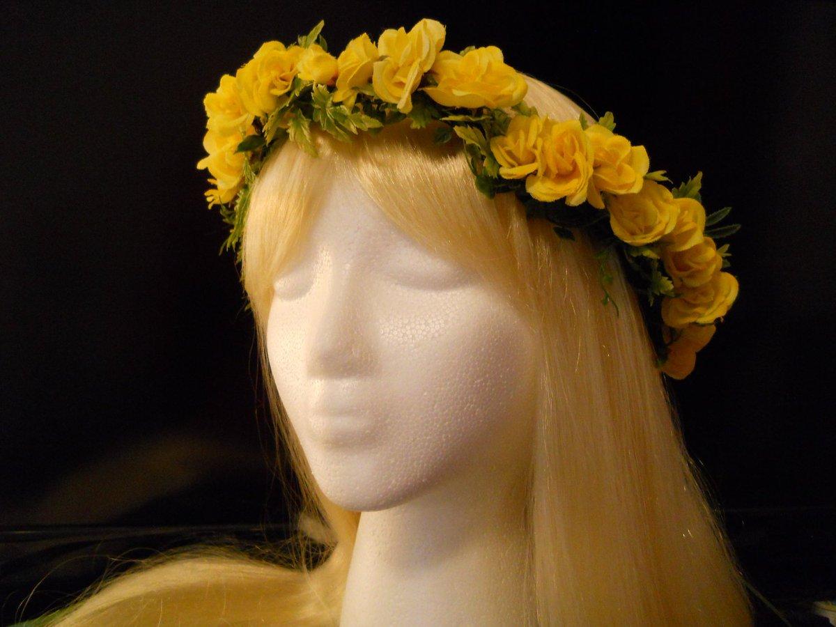 Yellow Flower Crown Head Wreath Yellow Rose for Yellow Boho Wedding… https://t.co/nuc72T5cff #King #AndPeggySchuyler https://t.co/QKEuJq9Cun