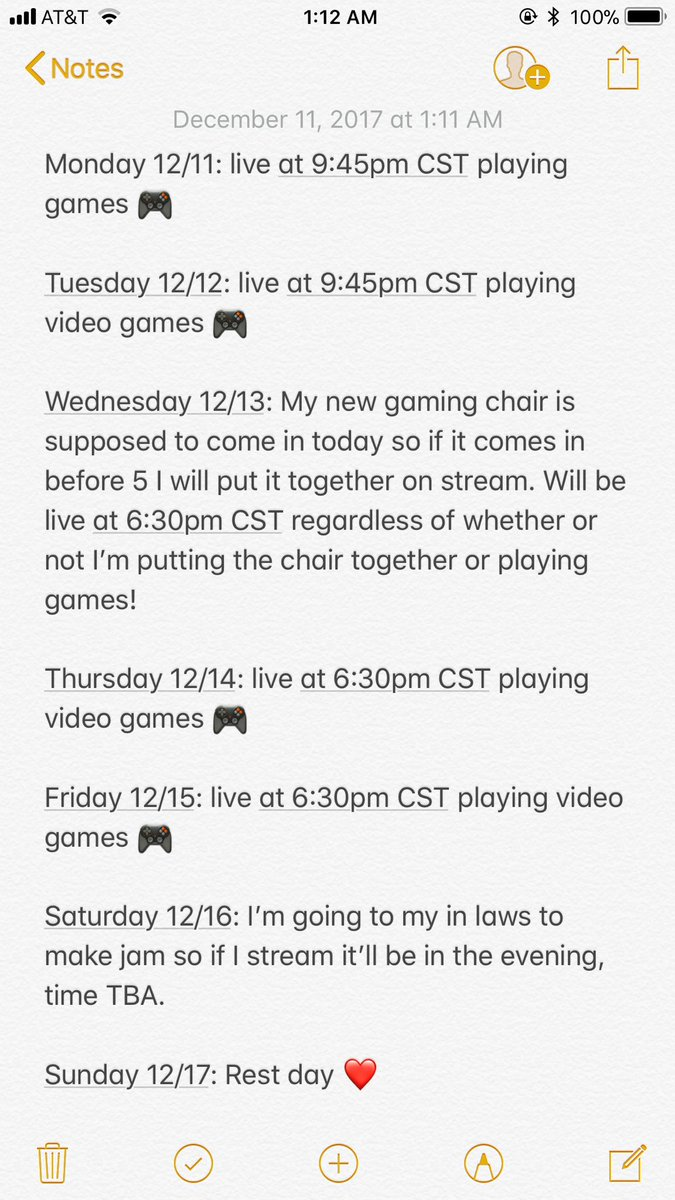 Stream schedule for this week! #stream #twitch https://t.co/UQLDxY1qEX