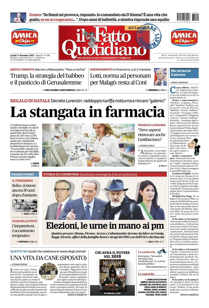 LA STANGATA IN FARMACIA L'ultima mossa c...