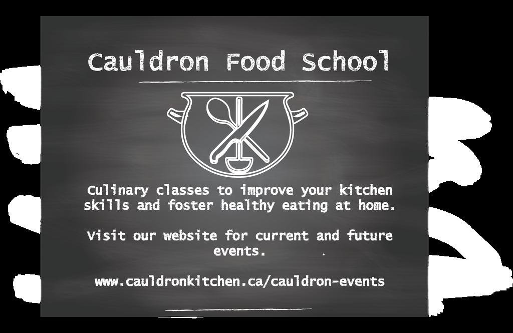 2018 Cauldron Food School Term unveiled. Share the joy of culinary training #local #school  http:// cauldronkitchen.ca/2017/12/10/cau ldron-food-school-2018/ &nbsp; … <br>http://pic.twitter.com/XAguqALl2u