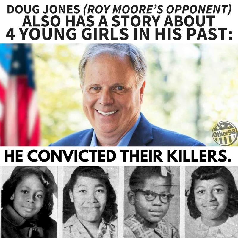 How amusing to hear Trump say that Jones is soft on crime. #RoyMoore #DougJones #Donald #Trump #DonaldTrump #SoftOnCrime<br>http://pic.twitter.com/vdnWQDA4rX