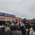 One year ago today, on a cold and windy morning, I stood at a parking lot on Broadway St. with a few hundred San Antonio neighbors and made a commitment to bold and positive change for our city. #TheCityYouDeserve #CompassionateSA  https://t.co/iyiJscsutk