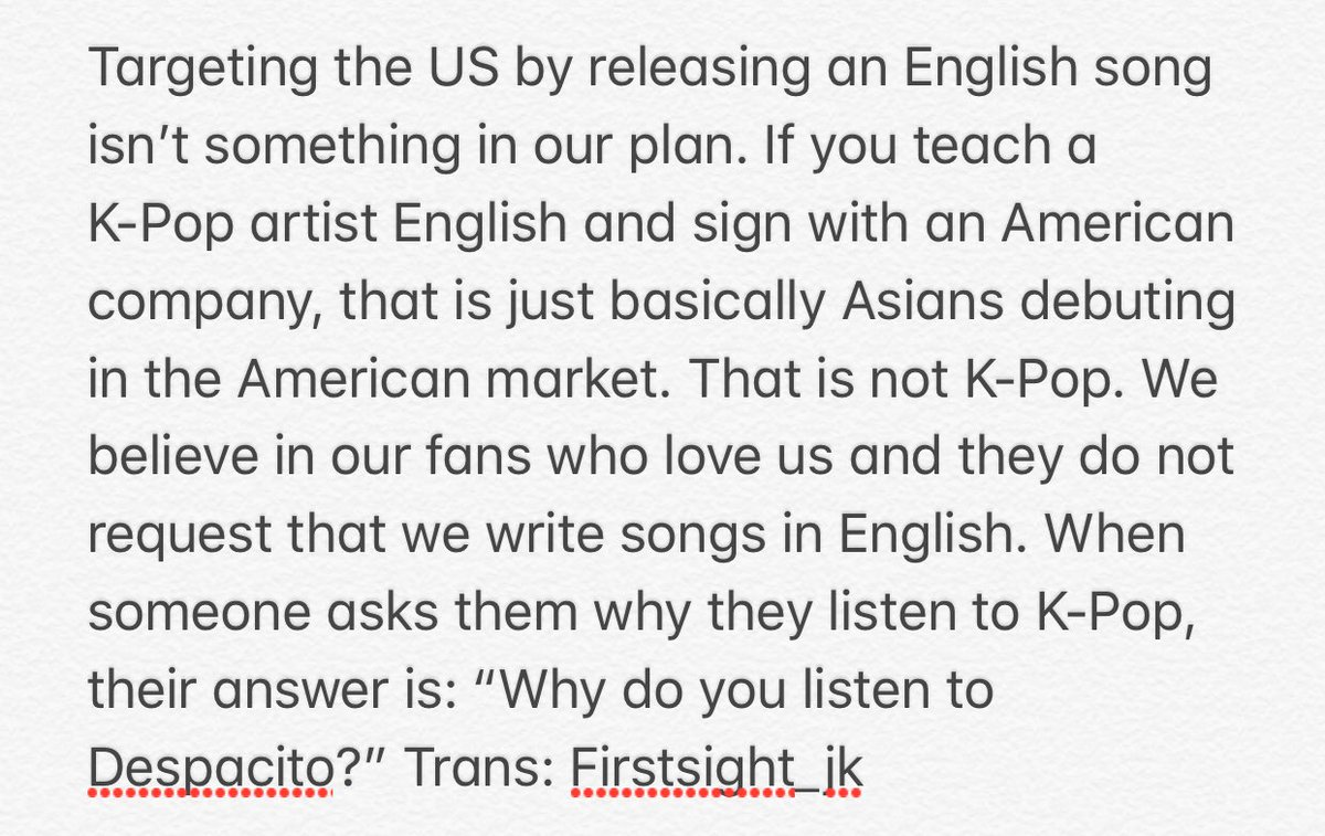 Bang PD: @BTS_twt will sing in Korean in...