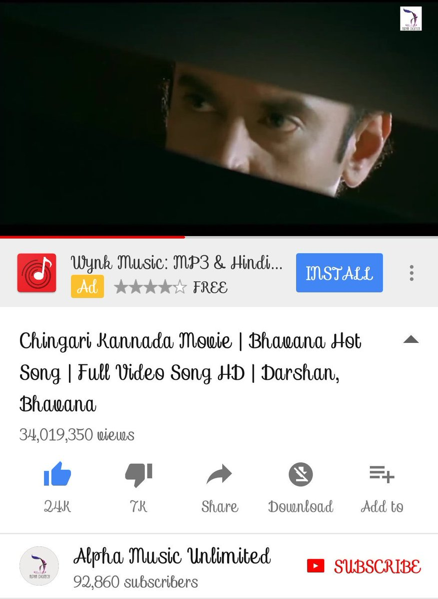 Chingari kannada movie bhavana hot song full video song hd darshan.