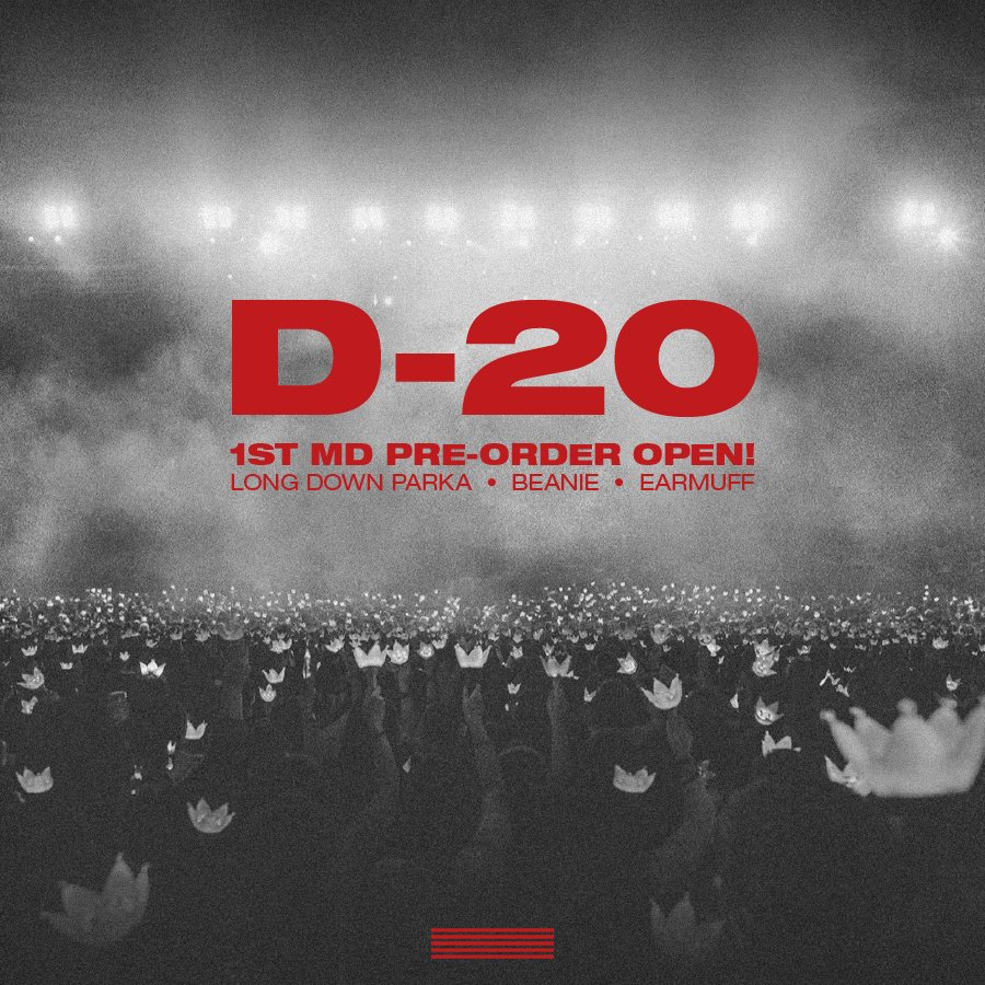 BIGBANG #LASTDANCE CONCERT OFFICIAL MD  1st Pre-Order Open   More info ⬇️ https://t.co/wCrUEKNEmx