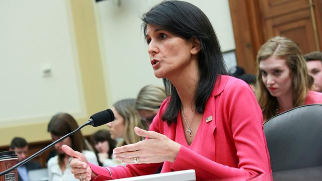 Haley: Women who accused Trump of sexual misconduct deserve to be heard https://t.co/LUVfjCSQ3l