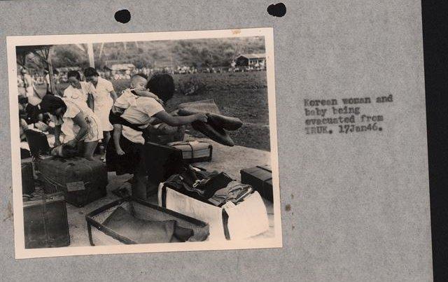 남태평양 '트럭섬'으로 끌려간 조선인 위안부 26명 첫 확인  태평양전쟁 당시 일본 해군 함대 기지가 있던 남태평양 '트럭섬'(Chuuk Islands)으로 끌려간 조선인 위안부 26명의 명부와 사진이 처음으로 확인됐다.  https://t.co/nxsreotp3q