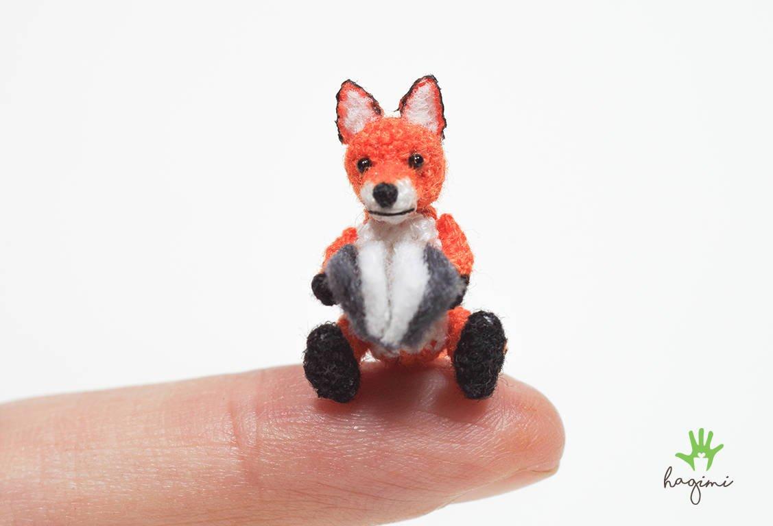 Tiny Fox Amigurumi Toy - Super Cute Kawaii!! | 768x1127