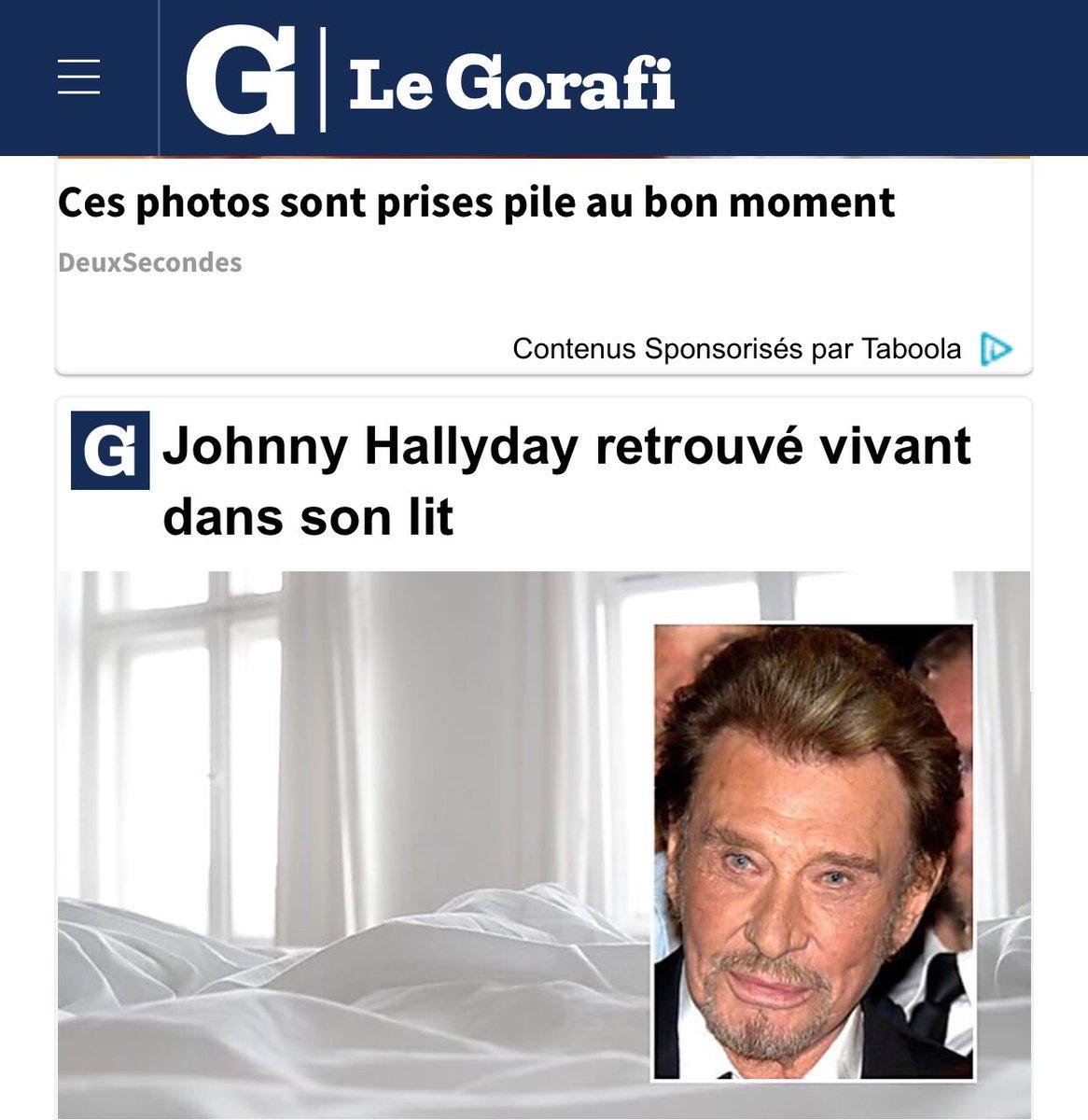#LeGorafi essaye de tester les #fansdeJohnny #Johnny #Hallyday en faisant un humour de caniveau. Profitant au passage pour ch... sur les #chrétiens. @le_gorafi #Marie #montretacroixpic.twitter.com/QfDVZz8NAx