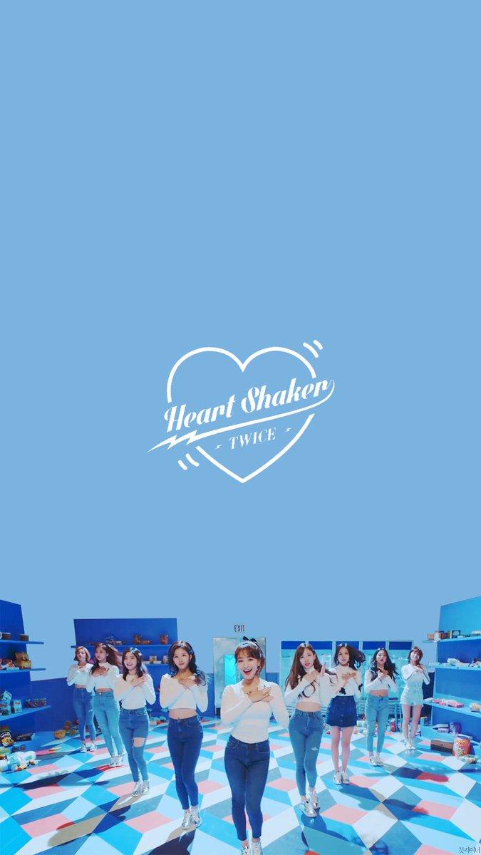 틋자이너 On Twitter Heart Shaker Wallpaper 트와이스 Twice