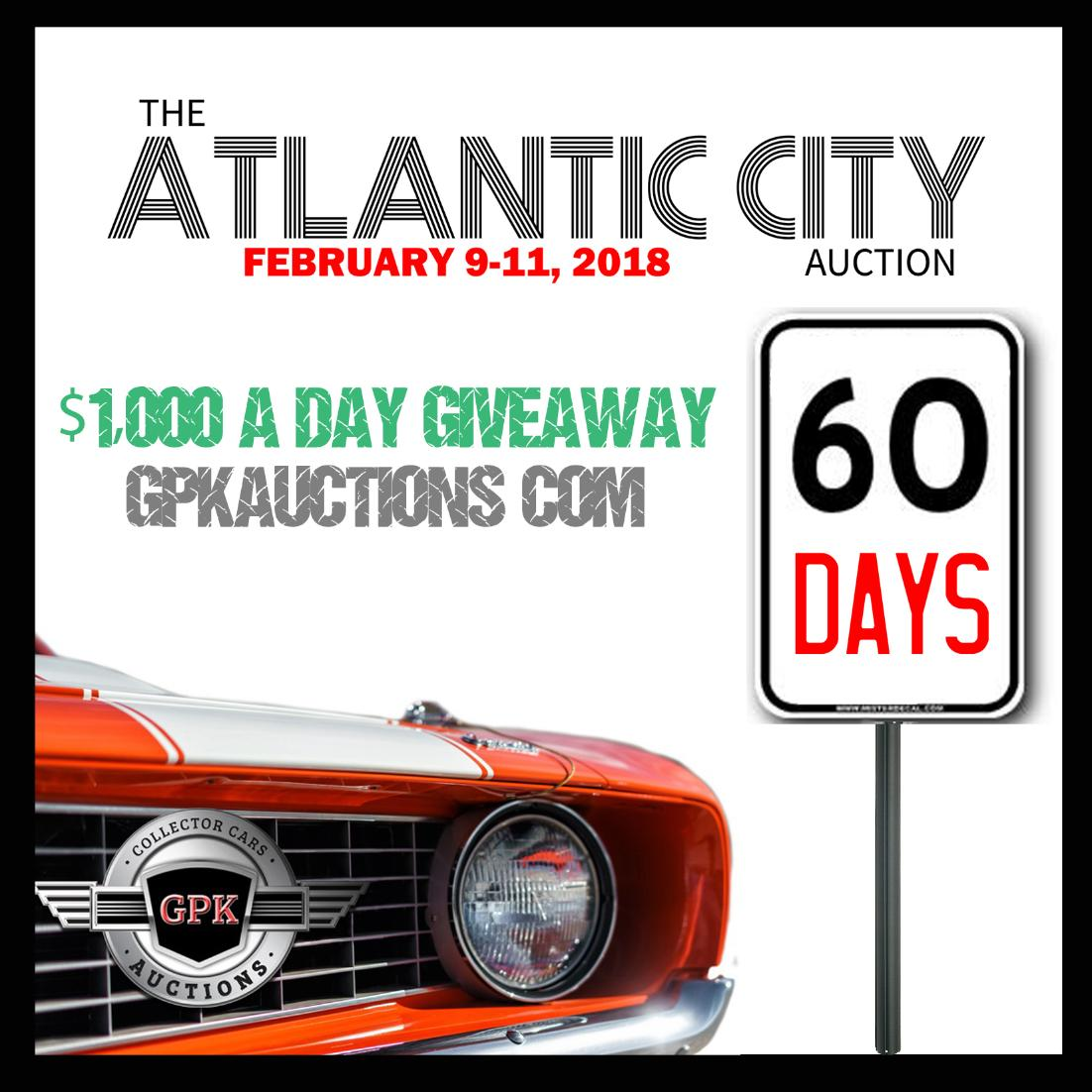 GPK Auctions On Twitter Whos Excited For The Atlantic City - Atlantic city car show 2018