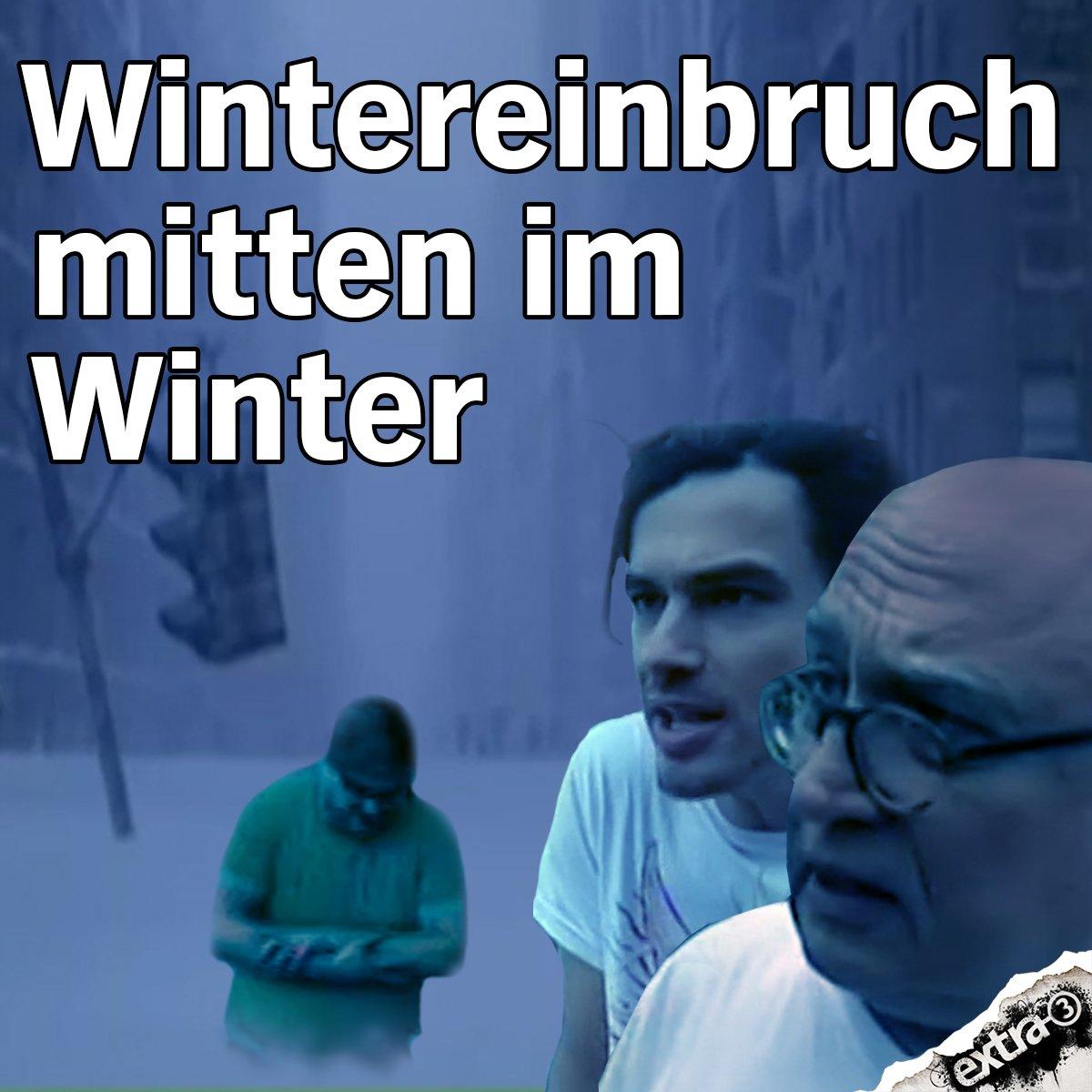 extra3's photo on #Schneefall