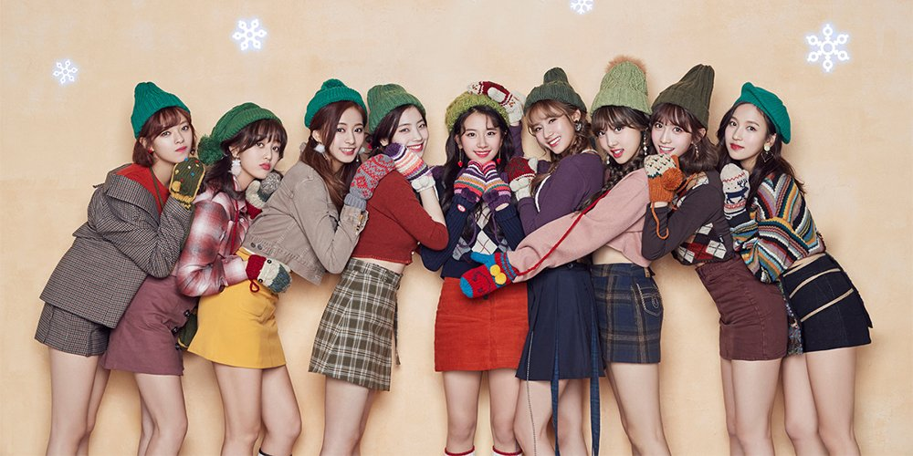TWICE welcome the holidays through 'Hear...