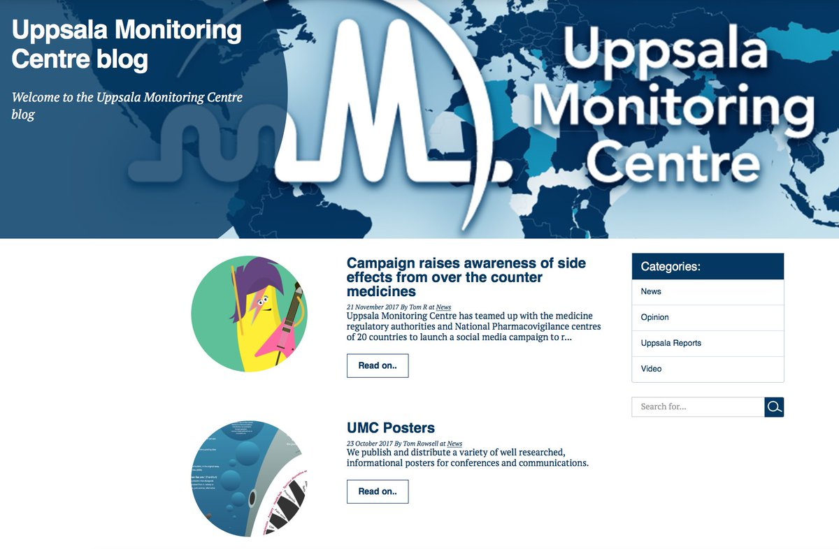 uppsala monitoring on twitter have you seen our blog it s where rh twitter com