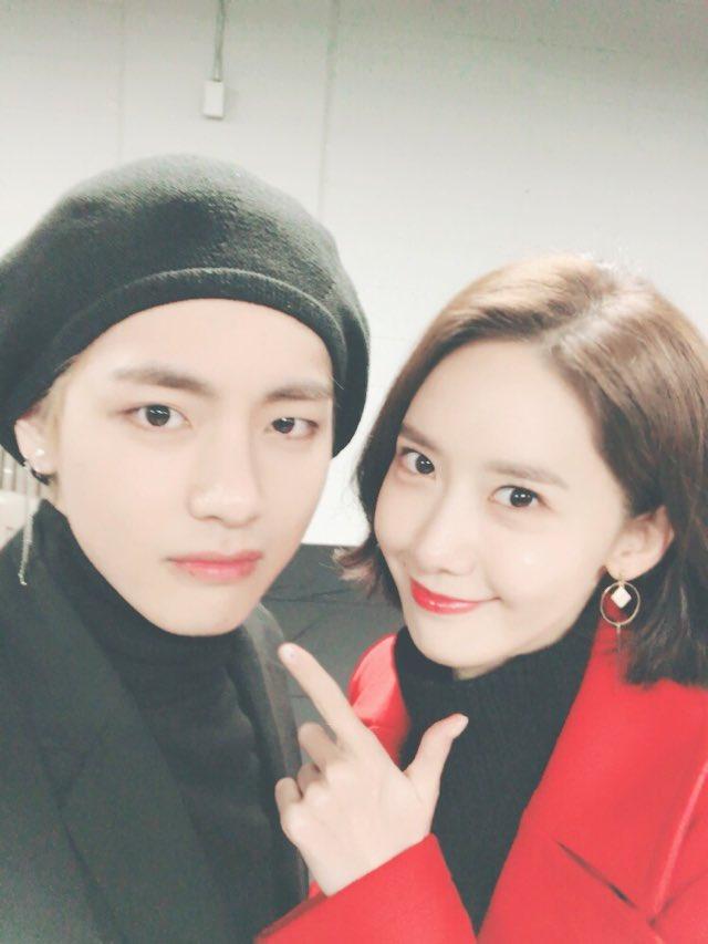 V BTS dan YoonA SNSD