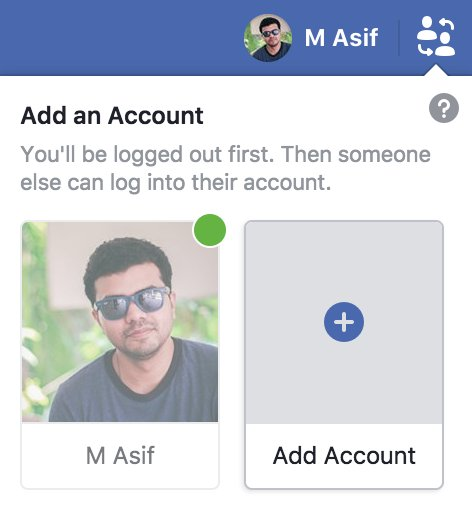 test Twitter Media - Are you guys seeing this too? BTW clicking Add Account will log you out from your main account! #Facebook #SocialMedia #fb https://t.co/yo0HDLKITj