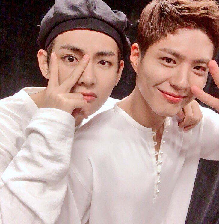 taehyung with bogum: a concept 💜 https:/...
