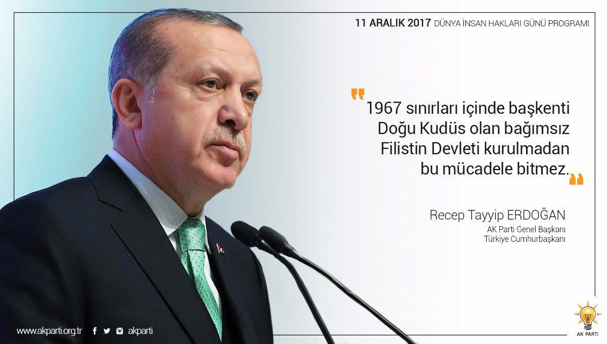 'Bağımsız Filistin Devleti kurulmadan bu mücadele bitmez.' #İnsanlıkİçinİyikiVarsınız https://t.co/tr2rWSYr6M