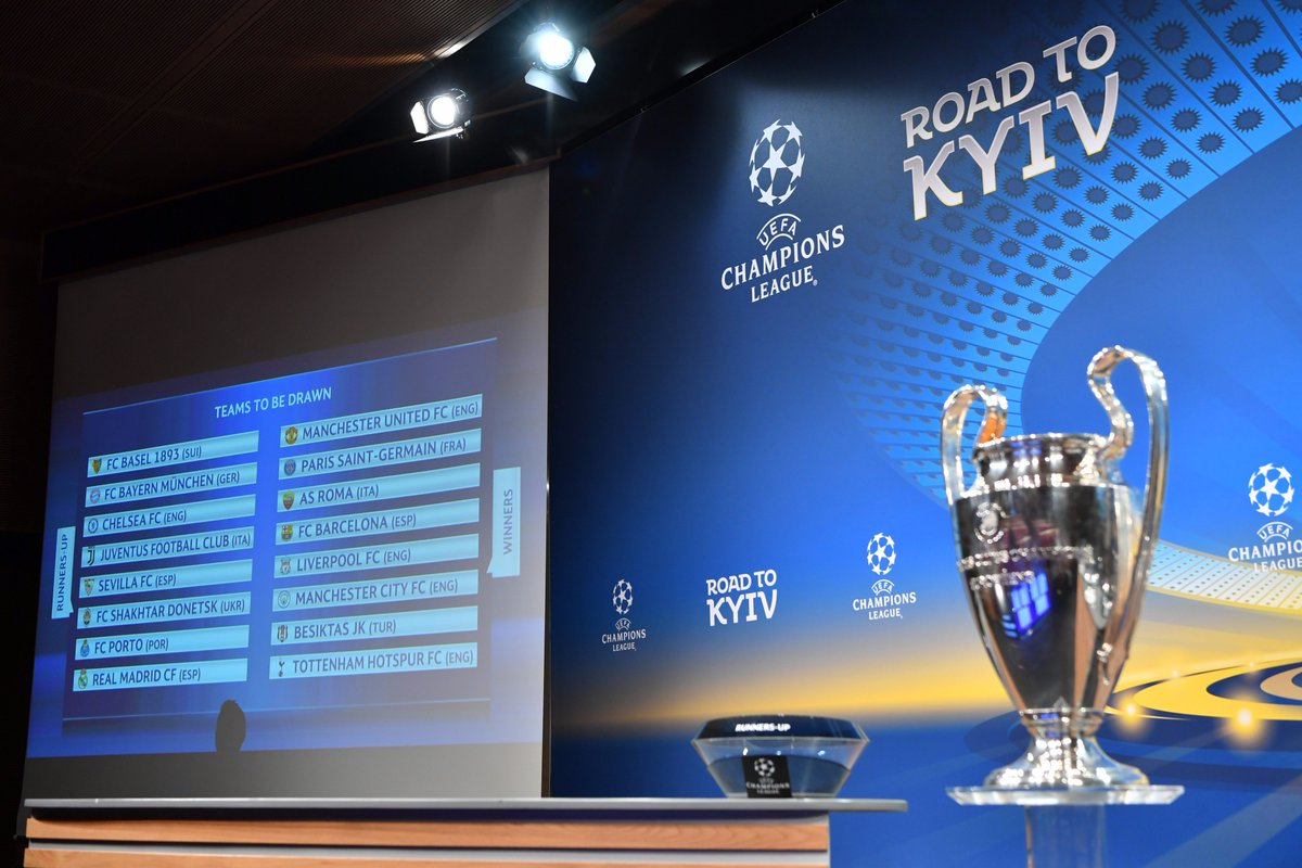 SOON!   Everything is calm (for now...) before the #UCL, #UEL and #UYL draws at UEFA HQ today. Watch live from 12:00CET on  http:// UEFA.com  &nbsp;  <br>http://pic.twitter.com/Wuv3pJqF1F
