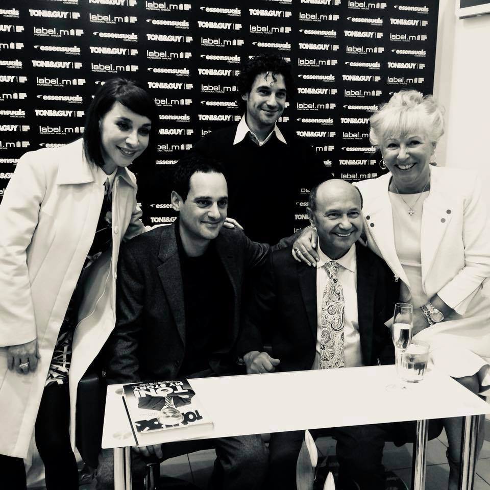 """TONI&GUY on Twitter: """"It is with deepest sorrow that this weekend we said  our final goodbyes to our founder, leader, husband, father and grandfather,  Giuseppe Toni Mascolo. We all loved him in"""