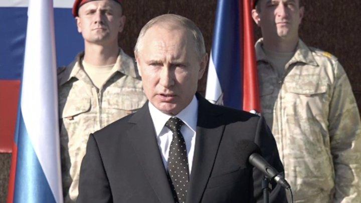 Путин на базе Хмеймим: задача в Сирии решена блестяще, пора домой