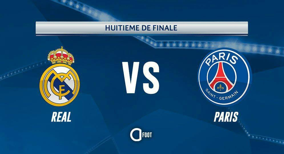 REAL MADRID🇪🇸 vs PARIS🇫🇷   #TirageLDC ht...