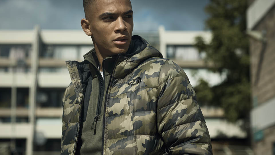 Brave the elements with @thenorthface Shark Down Padded Camo Jacket, the only armour you need this winter. 👌    Get it today. ⬇️ https://t.co/jeh0T3w5em