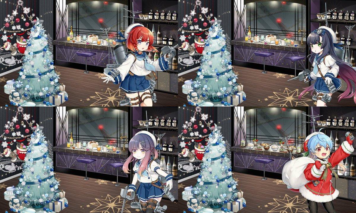 姉妹の皆が可愛らしくケーキとオレンジジュースでクリスマスを祝う中、唯一サンタ衣装を着ているにも関わらず何故か山盛りの雑穀米と味噌汁とアジの開きを出してしまう佐渡様とかいうクソガキほんと大好き