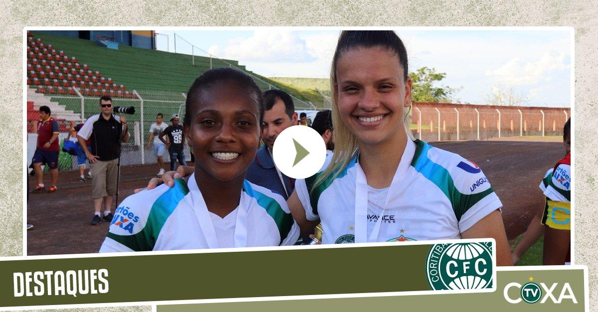 TV Coxa conversou com atletas do Foz Cataratas/Coritiba que foram destaques do Campeonato Paranaense de futebol feminino. Assista ao vídeo! https://t.co/fXkTilAdZJ