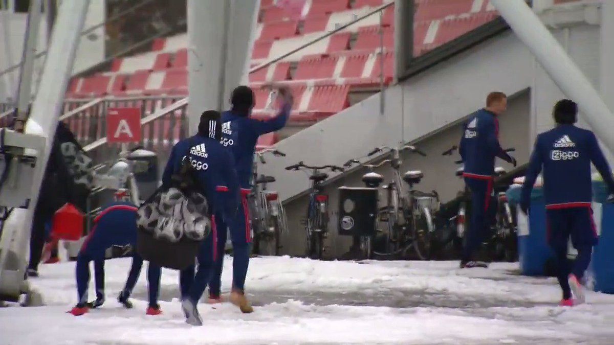 The day after #ajapsv! ⤵️  😁☃️❄️ https:/...