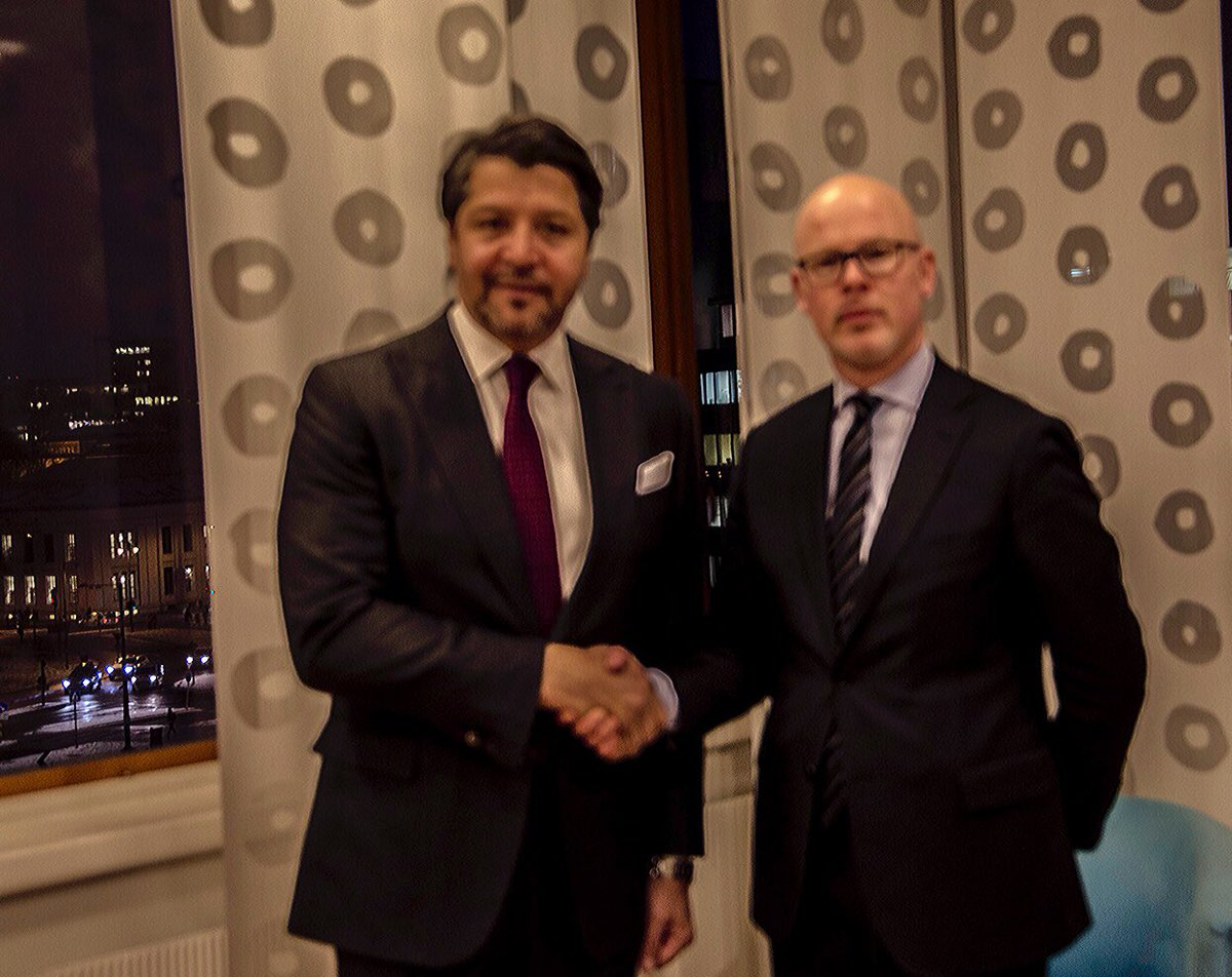 Norway provides long-term & stabil support to #Afghanistan. State Secretary Halvorsen and deputy FM @HekmatKarzai met ahead of int contact group meeting in Oslo Tuesday.