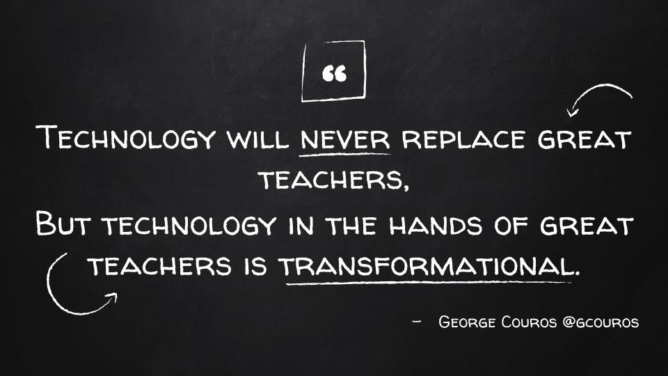 "Adam Geisen on Twitter: ""Day 6: My go-to #edtech quote courtesy of ..."