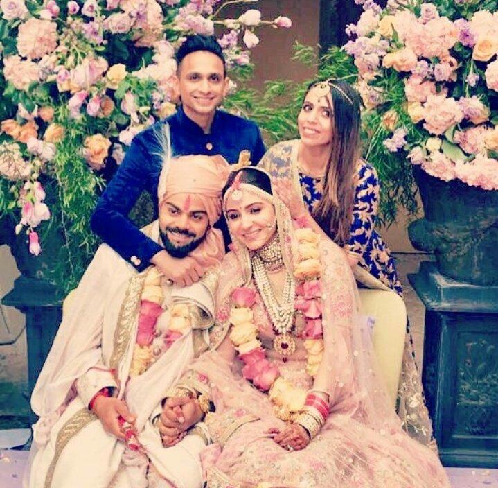 Confirmed! Anushka Sharma and Virat Kohli are married!