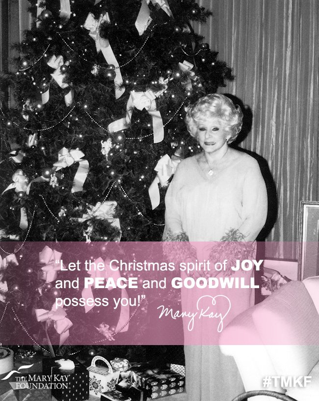 Mary Kay Christmas Images.The Mary Kay Foundation On Twitter Mary Kay Ash On