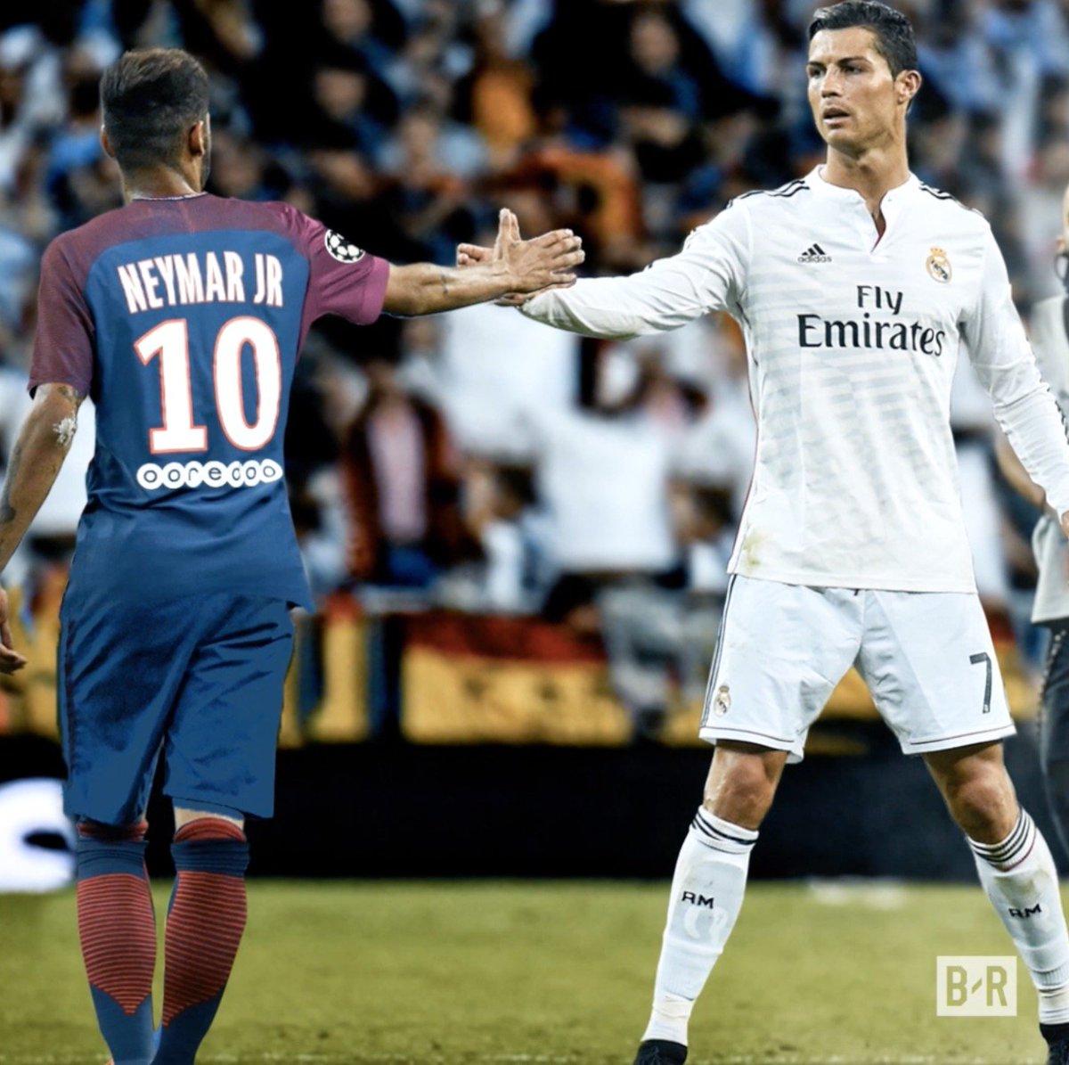 Neymar. Ronaldo. New look, same classic showdown. https://t.co/e07Y2ArqtU