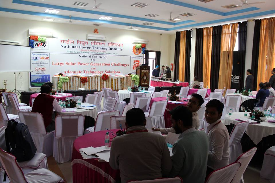 Thapar Institute Of Engineering Technology On Twitter Somie Organised A 2 Day National Level Conference On Large Solar Power Generation Challenges Adequate Technological Solutions For Thapar Institute Of Engineering