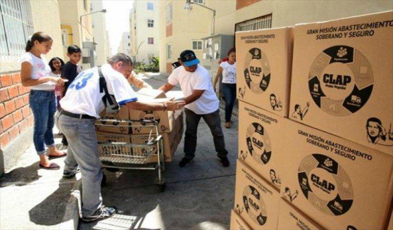El régimen regaló cajas CLAP en centro d...