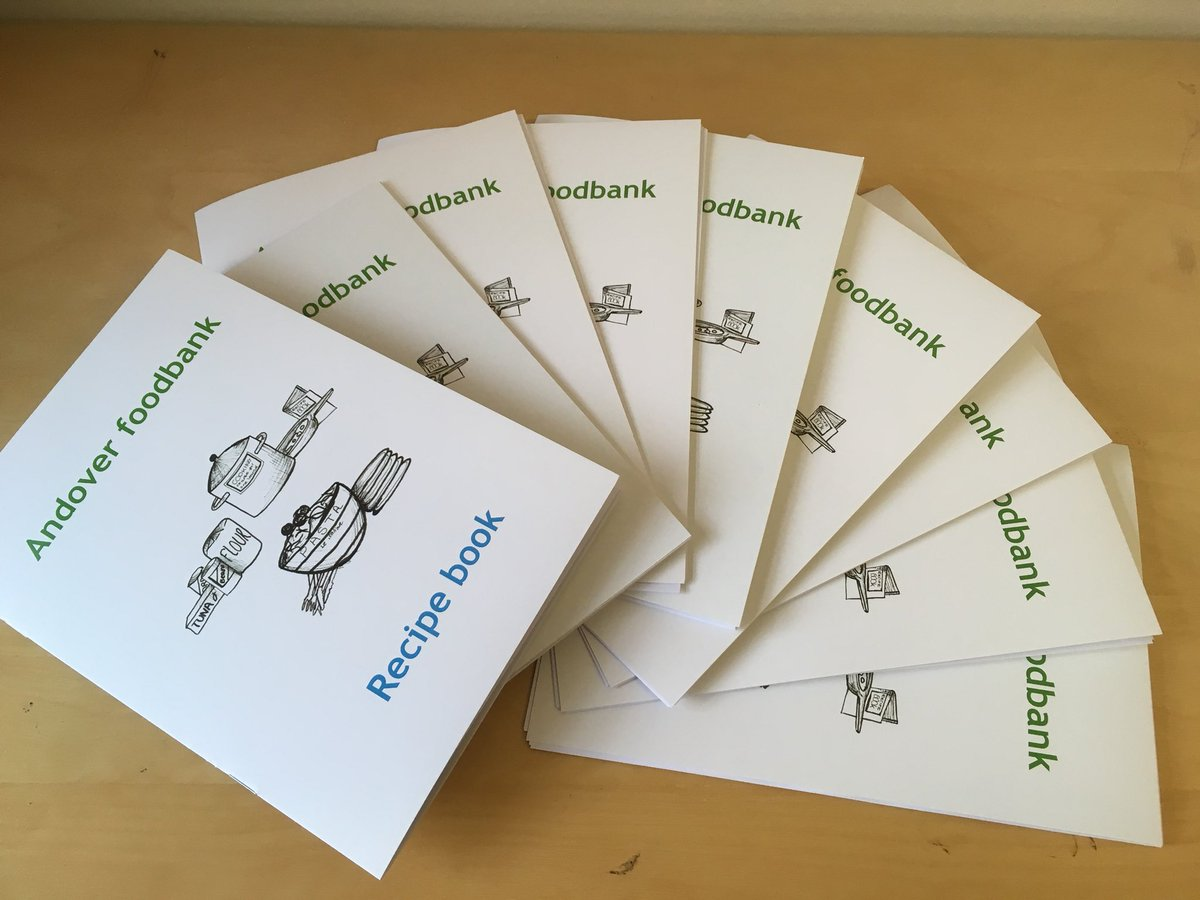 Andover foodbank on twitter just a few copies of our recipe book andover foodbank on twitter just a few copies of our recipe book left contributions from volunteers supporters and agencies a perfect stocking filler forumfinder