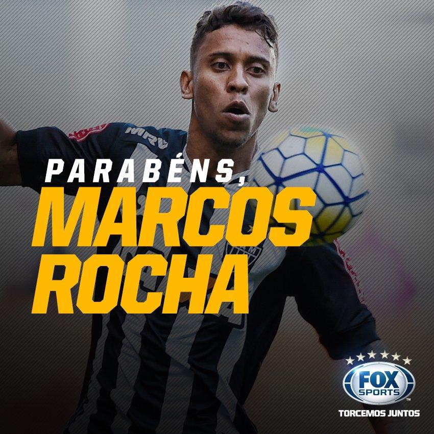 🏆Campeão da Libertadores  🏆Campeão da Recopa Sul-Americana  🏆Campeão da Copa do Brasil  🏆Tetracampeão mineiro  🏆Campeão da Florida Cup  🏆5X melhor lateral do Brasil   Marcos Rocha completa hoje, 29 anos de muita qualidade! Cada RT é um parabéns para o lateral do @atletico!