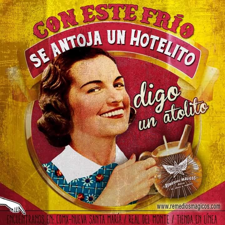 #ConEsteFrío se antoja un hotelito........