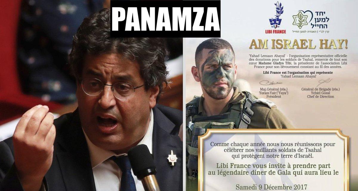 Rémunéré par le peuple français, le député Meyer Habib lève des fonds pour l'armée israélienne