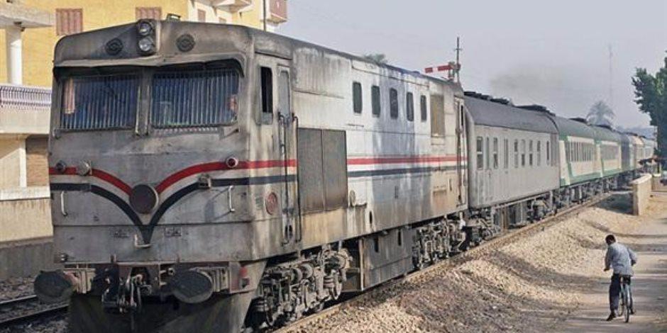 السكة الحديد: تأخير قطار ركاب المنصورة ا...