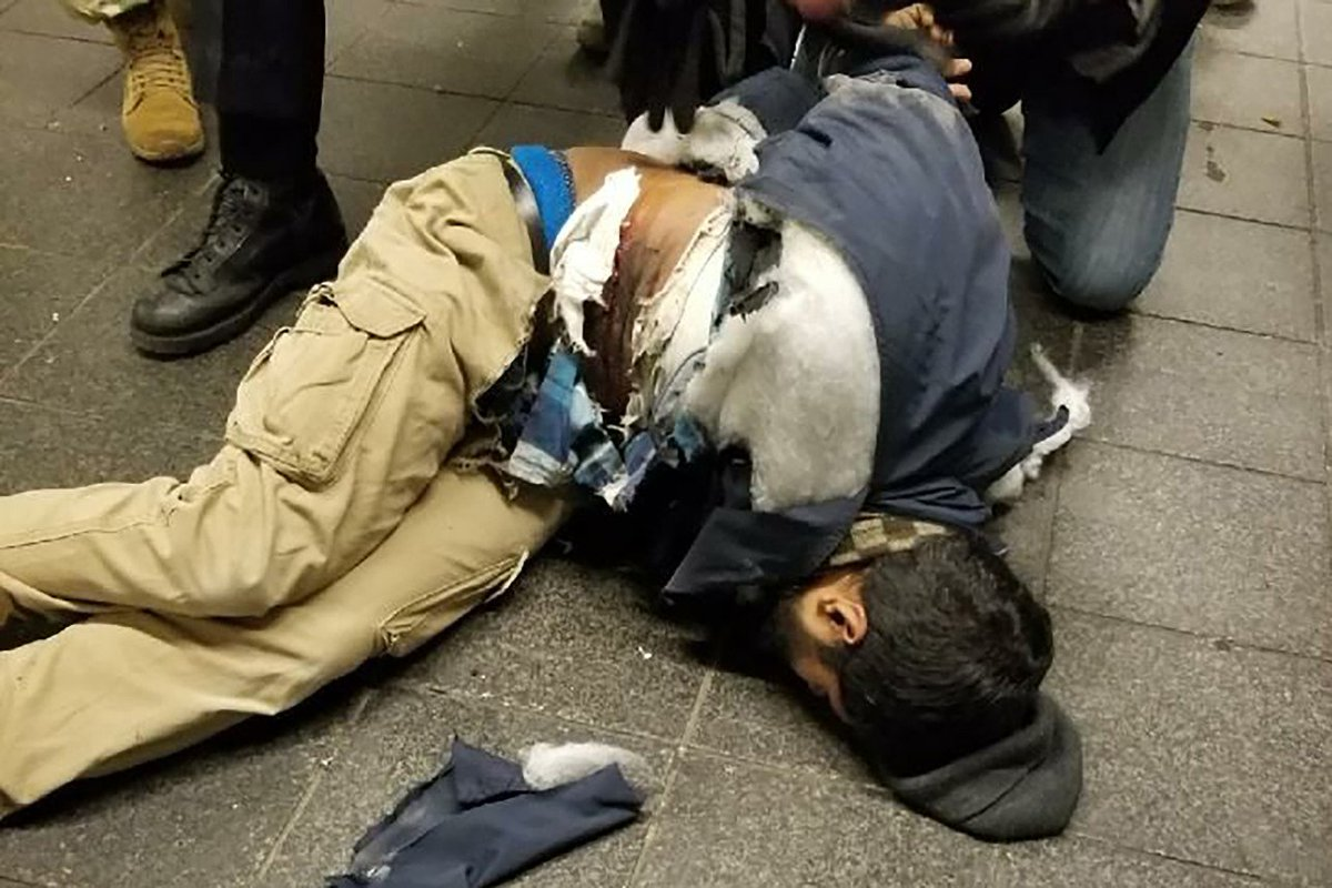 Four injured in New York City blast, suspect nabbed