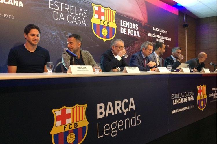 Chance de ter Rivaldo e Ronaldinho, ingressos e atletas locais: Barcelona Legends na Arena de Pernambuco https://t.co/cTxCkFUWBB